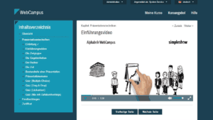 E-Learning Infoport Webcampus