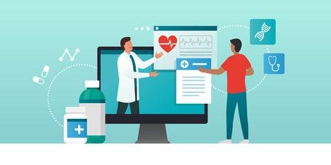 Unterricht e-Learning Healthcare